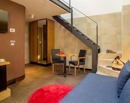 The elegant Junior Suites of the Best Western Plus Hotel Spring House for your stay in Rome