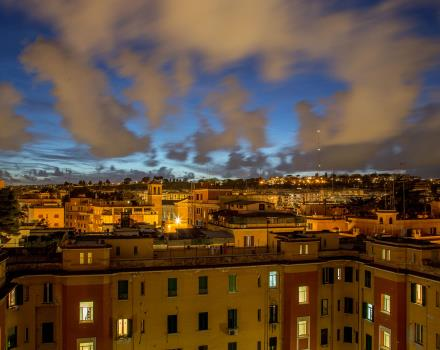 The wonderful view of Rome that you can enjoy from the Best Western Plus Hotel Spring House