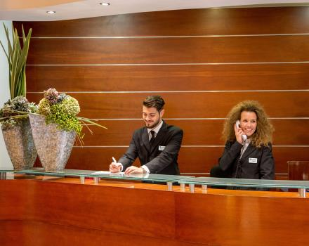 The staff at Best Western Plus Hotel Spring House in Rome is available to satisfy all needs