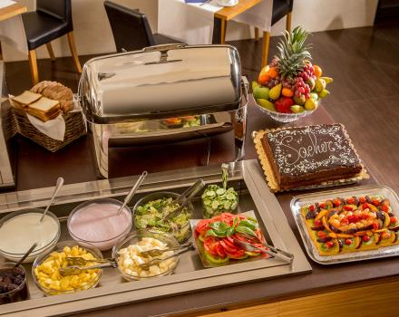 For the guests of the Best Western Plus Hotel Spring House rich breakfast buffet every morning
