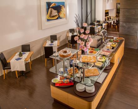 Breakfast buffet every morning at Best Western Plus Hotel Spring House in the center of Rome