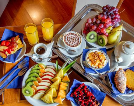 Rich and tasty breakfast in your hotel in central Rome: Best Western Plus Hotel Spring House