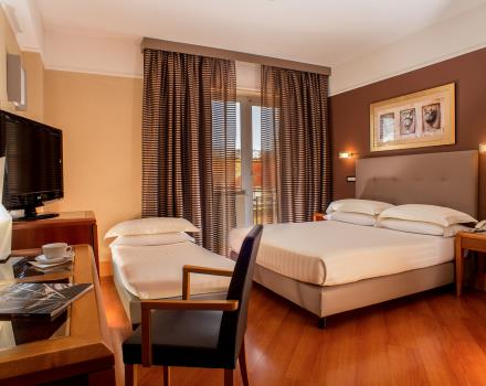 Best Western Plus Hotel Spring House offers comfortable triple rooms for your stay in Rome