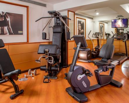 Best Western Plus Hotel Spring House offers fully equipped fitness area to keep fit