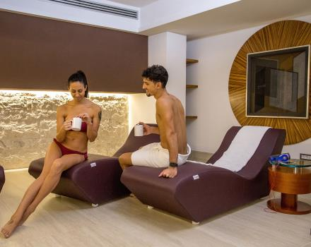 Take a break in the relax area of the BW Plus Hotel Spring House to enjoy your stay in the center of Rome