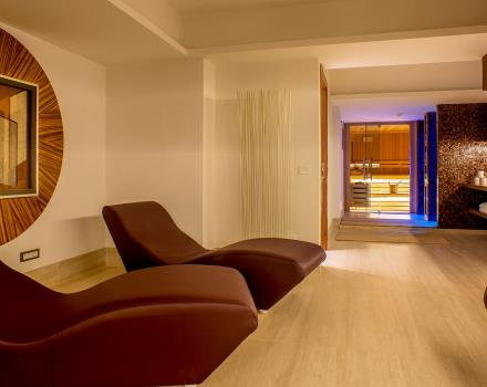 Relax in the sauna of the Best Western Plus Hotel Spring House in the center of Rome