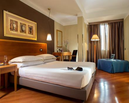 Reception and services in the rooms of the Best Western Plus Hotel Spring House Rome Center
